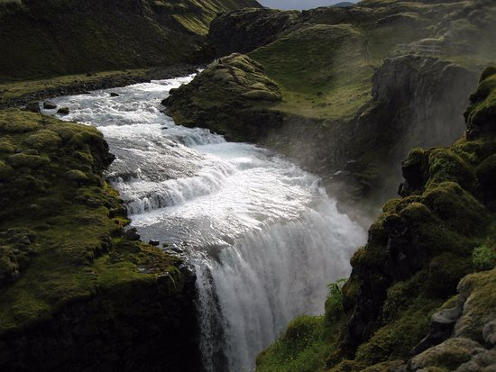 Hekluhestar: Waterfall