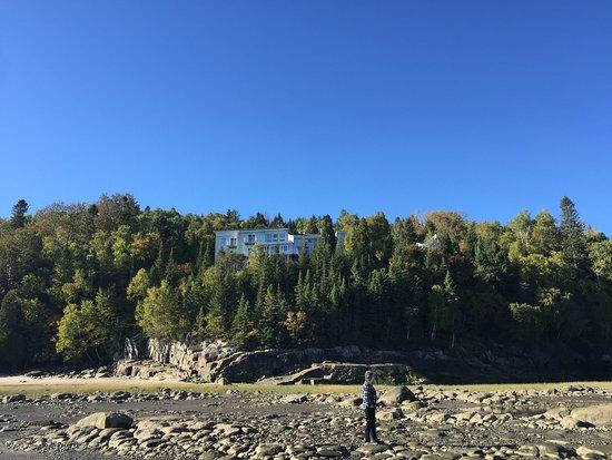 La Baie, Canada: Low tide