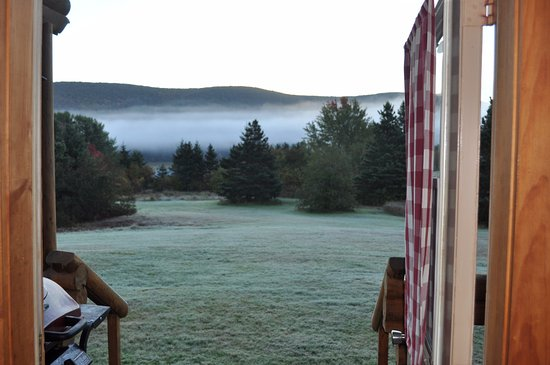Margaree Forks, Kanada: Great morning view - 7am