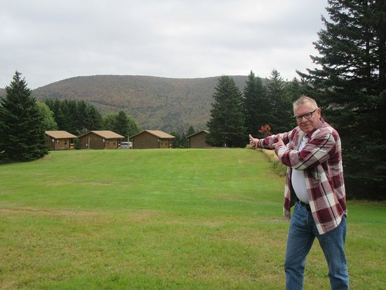 Margaree Forks, Canada: Back field from cabins, some great walking areas