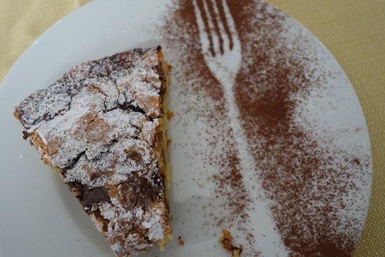 Peccioli, Italien: Dessert!