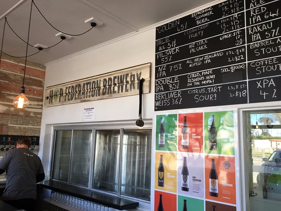 Riwaka, Nueva Zelanda: the tasting room at Hop Federation
