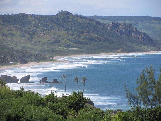 Saint Michael Parish, Barbados: Atlantic coast...