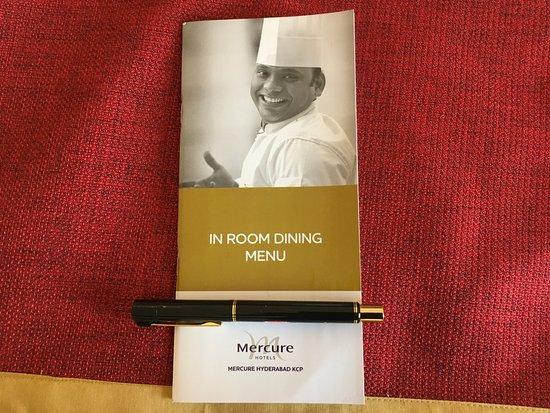 in room dining menu with chef vinay s picture mercure hyderabad rh tripadvisor co uk in room dining menu nyc in room dining menu at grand hyatt atlanta
