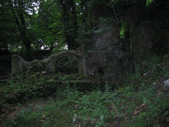 Matlock, UK: Ivy-clad ruin