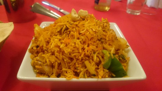 Tamarin Indian Restaurant Bathurst: Chicken Biryani