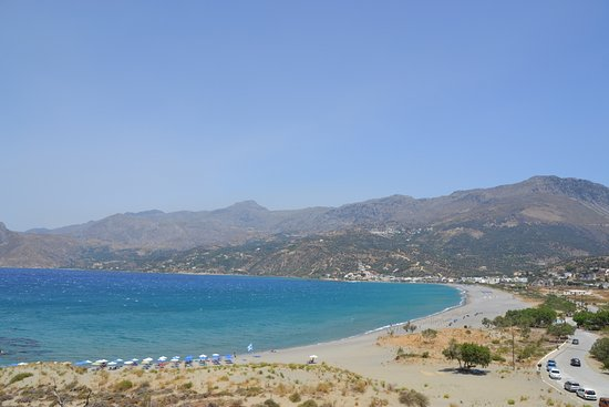Plakias Suites: пляж Плакиаса