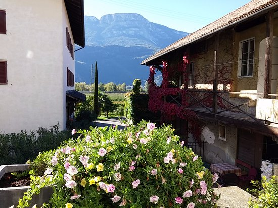 Terlano, Italië: Patauner - vista verso il monte Penegal