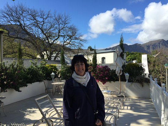 The Last Word Franschhoek: First floor Sun Deck