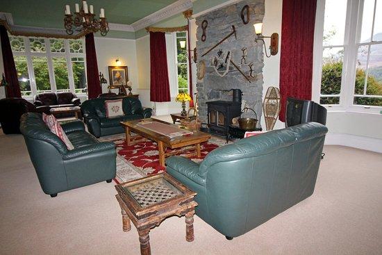 Llan Ffestiniog, UK : Guest Lounge