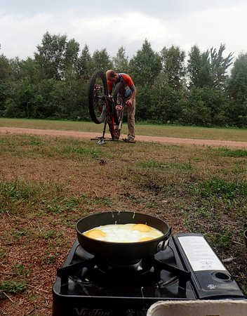 Wausau, WI: Breakfast at Nine Mile Forest