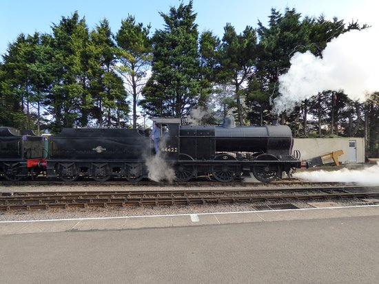 Watchet, UK: one of the steam engines