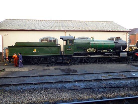 Watchet, UK: another loco