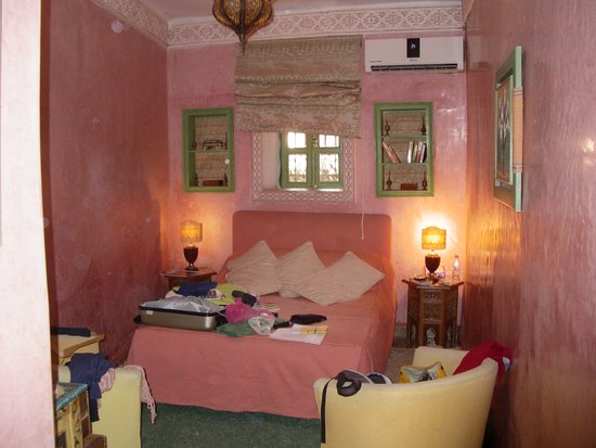 Riad Ravel: notre chambre