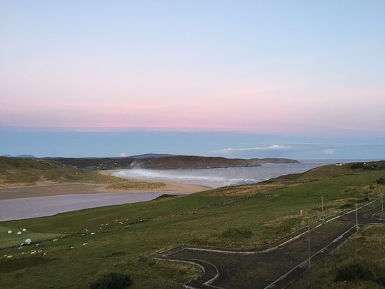 Bettyhill, UK: The view from the room
