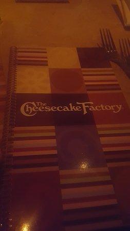 The Cheesecake Factory: Menu
