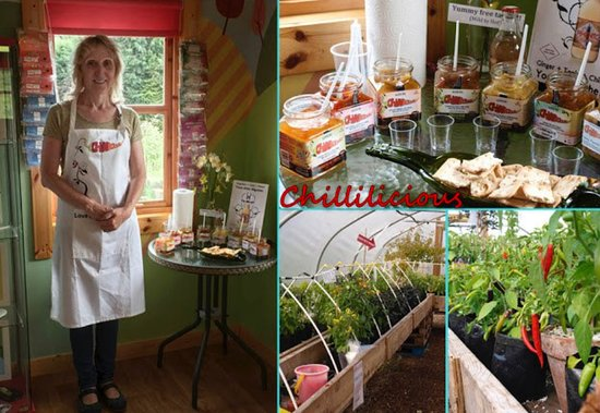 Ceres, UK: We have different chilli samples out every visit!