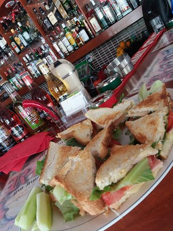 Souda, กรีซ: Fresh club sandwich.