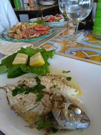 Atrani, Ιταλία: Le Palme Ristorante Pizzeria