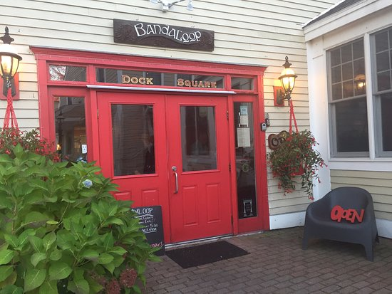 Bandaloop: A unique little restaurant tucked away. Look for it!