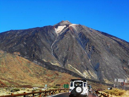 Arona, İspanya: volcan teide