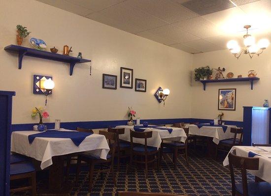 Greek American Family Restaurant Clic Ambience