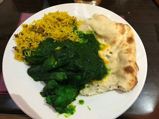 Workington, UK: Green Chicken Curry
