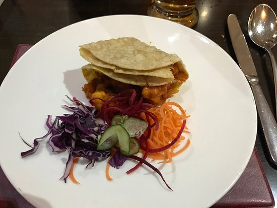 Workington, UK: King Prawn Puri