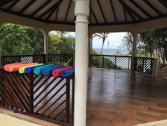 Calibishie, Dominica: Yoga Pavilion