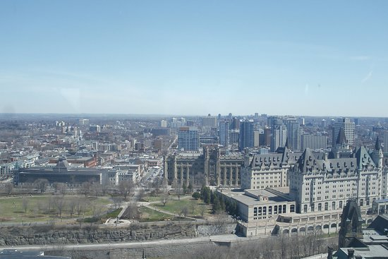 Ottawa viewed from Peace Tower