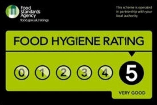 Murphy Browns Restaurant 5 Stars Food Hygiene Rating