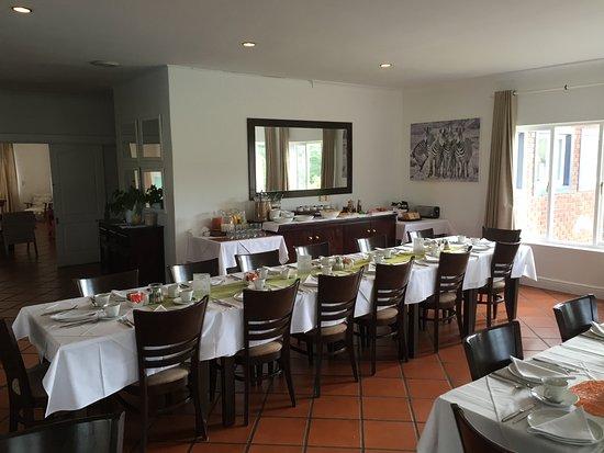 Redbourne Country Lodge: ontbijt ruimte