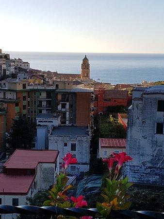 Villa Lara: Vista dal terrazzino