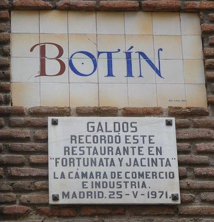Underground's restaurant - Picture of Restaurante Botin