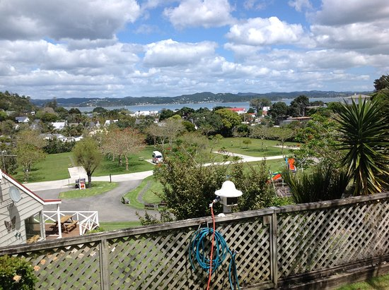 Russell TOP 10 Holiday Park: View from our caravan site