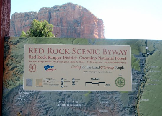 Red Rock Scenic Byway Sign SR 179 Sedona AZ Picture of Red