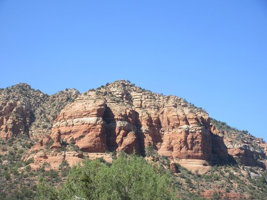 SR 179 Highlight Map Red Rock Scenic Highway Sedona Az Picture