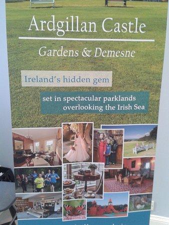 Κομητεία Δουβλίνου, Ιρλανδία: Hinweisschild im Eingangsbereich
