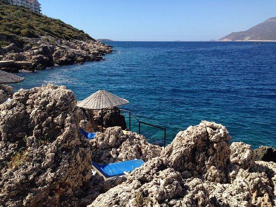 أربيا هوتل: Hotel's beach