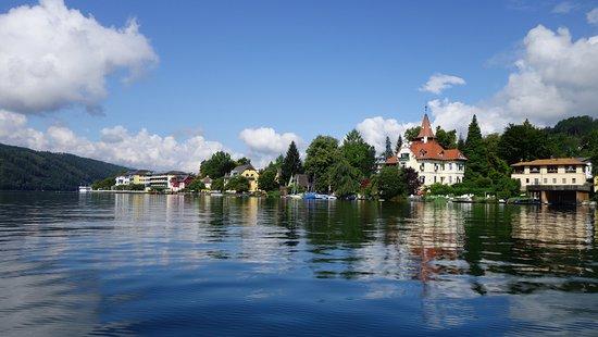 Millstatt, Österreich: Dalla barca