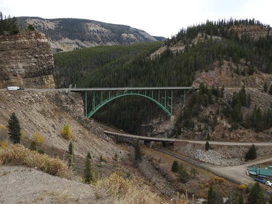 Red Cliff, CO: Bridge just out side of town by Ken Groezinger