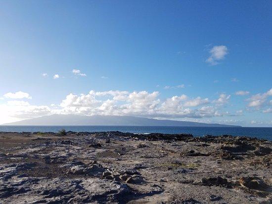 Kapalua, ฮาวาย: Cooled lava