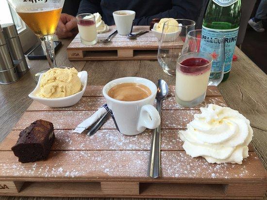 Lamorlaye, Prancis: café gourmand