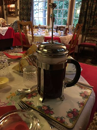 Froghall, UK: Cafetiere of coffee :-)