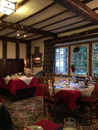 Froghall, UK: The farmhouse dining room