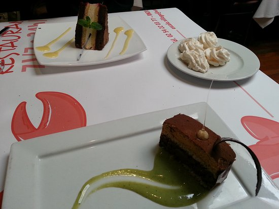 Deols, Frankrike: les desserts