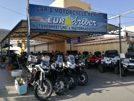 ‪Eurodriver Motorcycle Rental‬