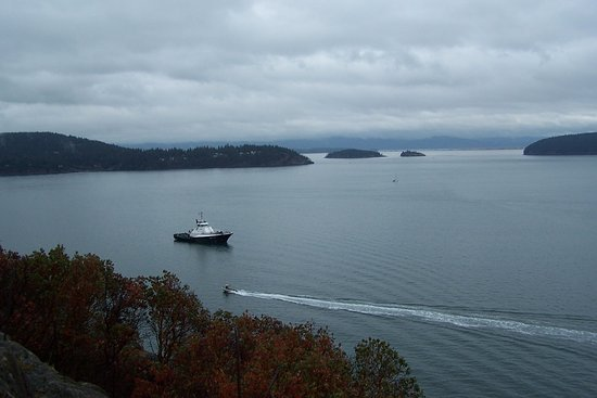 Anacortes, WA: Fidalgo Bay. Guemes, Saddleback, Dot and Hat Islands