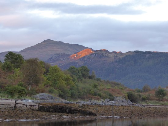 Lochgoilhead, UK: Early evening