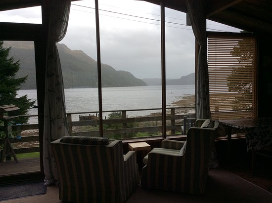 Lochgoilhead, UK: View from the main window